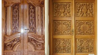 Latest decorative grand main doors for modern homes