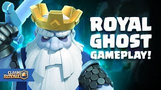 Clash Royale: Introducing Royal Ghost (New Legendary Card!)