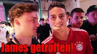 ICH TREFFE JAMES, ALABA & BOATENG + STADIONTOUR durch Allianz Arena | ViscaBarca