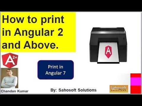 How to print in Angular 7 | print in angular 7 | Sahosoft Solutions thumbnail