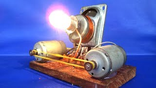 Fair projects free energy generator with magnets speaker - DIY experiments at home