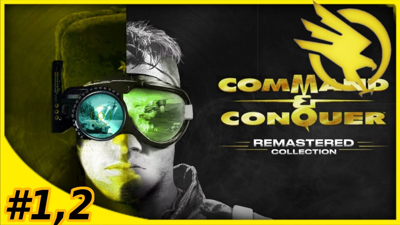 #1,2 Command And Conquer Remastered GDI Campaign