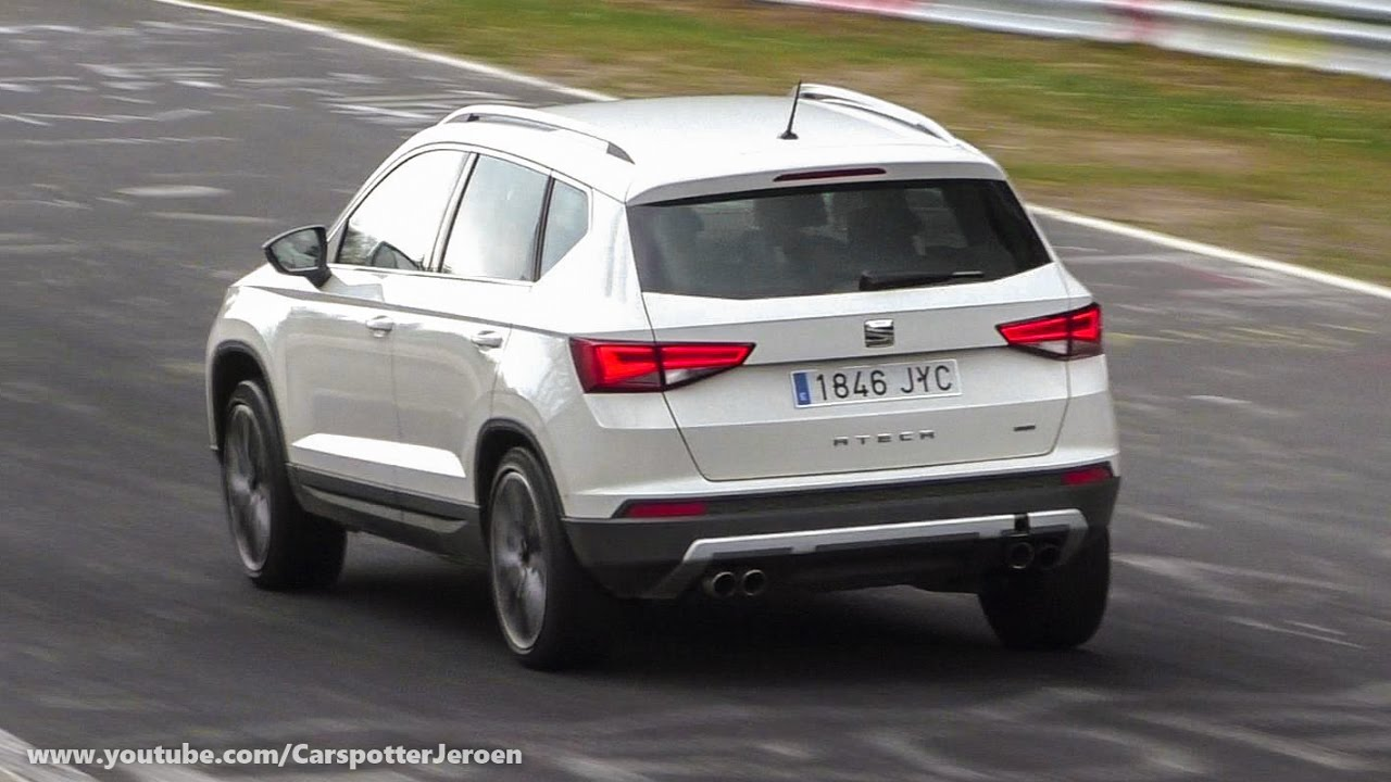 spyshot new 2018 seat ateca cupra 300 hp youtube. Black Bedroom Furniture Sets. Home Design Ideas