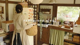 New season makeovers, making side dishes | nyangsoop vlog