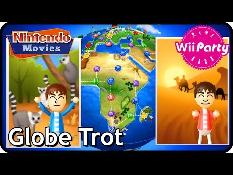 Wii Party - Globe Trot (Master, 2 Players)