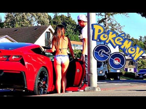 Pokemon Go Gold Digger Prank