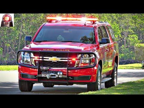 North Collier Fire Chevy Suburban Battalion Chief 40 [Walk Around]