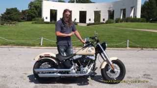 Harley Davidson Softail Slim walkthrough and ride review