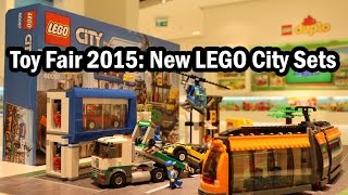 Toy Fair 2015: New LEGO City Town Square (Set 60097) – LEGO Tram