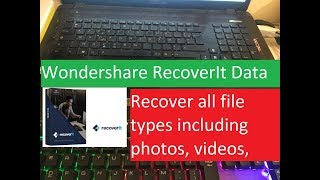 How to recover data from a hard drive Wondershare RecoverIt Data Recovery Software Review