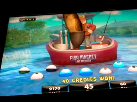 igt fishing bob slot machine bobber bonus youtube