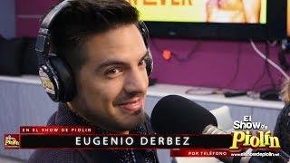 Eugenio Derbez va a ser abuelo y le da la sorpresa su hijo Vadhir con Piolin