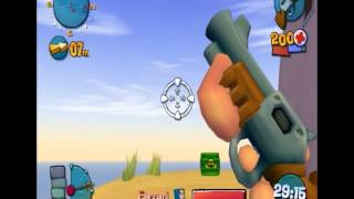 Worms 4 Tweaking Shotgun Reload after 1 shot + Sound effect when reloading
