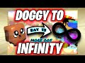 ZOMG doggy to infinity *MORE OGS* (day 13)   bubble gum simulator