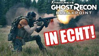Ghost Recon Breakpoint IN ECHT! Survival mit Fritz Meinecke!