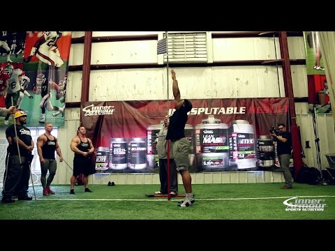 Vertical Jump Challenge Bodybuilders vs Football Players