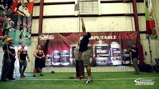 Vertical Jump Challenge Bodybuilders vs Football Players