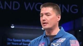 Astronaut Kjell Lindgren Visits Washington, DC on This Week @NASA – April 29, 2016
