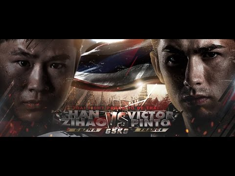 Victor Pinto (France) VS Han Zihao (China), Thai Fight Proud to be thai 23/072016