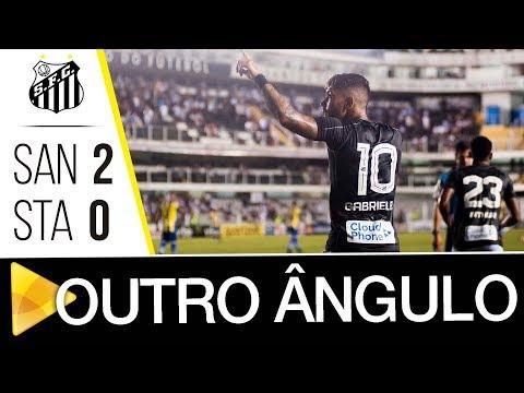 Santos 2 x 0 Santo André | GOLS POR OUTRO ÂNGUO | Paulistão (25/02/18)