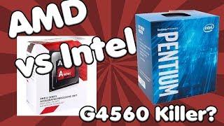 55 Euro AMD Quadcore BESSER als Intel Pentium G4560?   ZUSCHAUERFRAGE