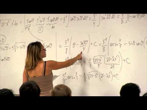 Math 2B. Calculus. Lecture 12. Trigonometric Substitution
