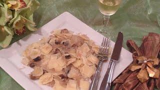 Lazanki With Sauerkraut And Mushrooms