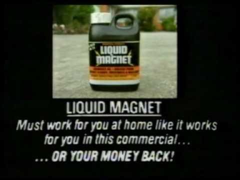 Liquid Magnet ad from Australia 1987