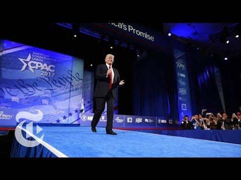 President Donald Trump's Full Speech At CPAC   The New York Times