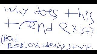 ¿Por qué existe esta extraña tendencia ROBLOX??? (Tan malo)