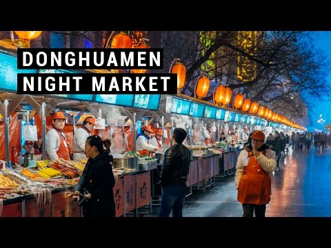 Donghuamen night market | Travel guide