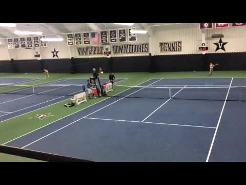 USTA Top 25: Vanderbilt Women's Tennis Takes on South Carolina