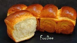 Хлеб на хлебной ЗАВАРКЕ долго не черствеет и не крошится! Японский молочный хлеб Хоккайдо как ПУХ