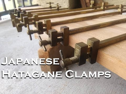 Japanese Hatagane (Traditional woodworking clamps)