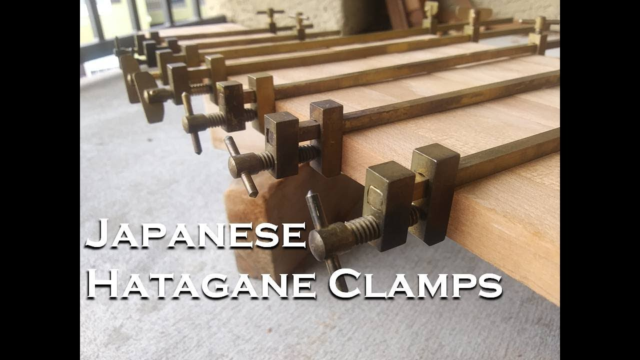 Japanese Hatagane Traditional Woodworking Clamps Youtube