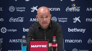 Rueda de prensa Levante UD vs FC Barcelona