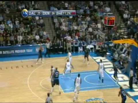 Denver Nuggets 08-09 Defense vs the Dallas Mavericks