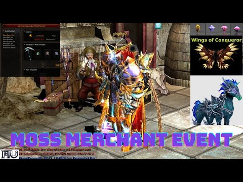 Evento MOSS MERCHANT Mu Online