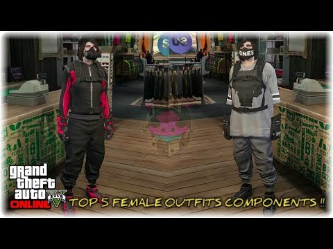 gta-5-online-top-best-merge-female-outfits-components-transfer-glitch!-gray-jersey,-gray-joggers-etc