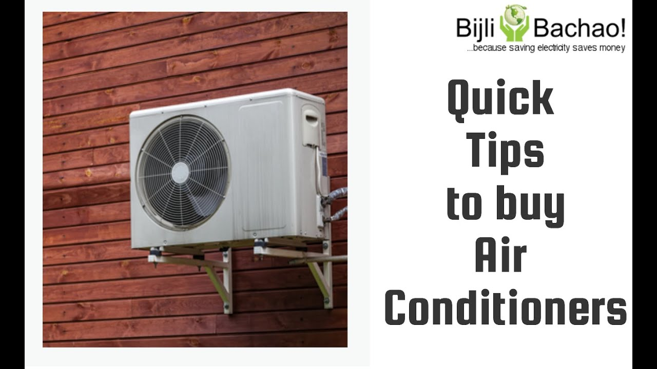 Guide To The Best Air Conditioner In India