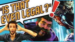 """IS THAT EVEN LEGAL?"" ♦ RENGAR Skyyart ! Funny Moments Skyyart #1"