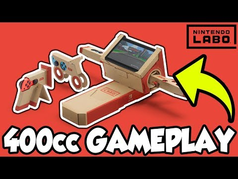 ALL 400cc Grand Prix Gold Trophies! | Racing With Nintendo Labo Motorbike!  [🔴LIVE]