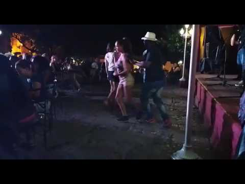 Dancing salsa in Cuba Trinidad!