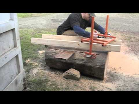 Homemade Alaskan Chainsaw Mill