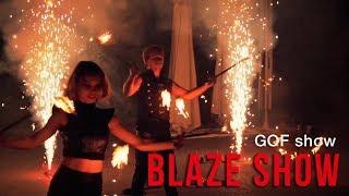 Фаер шоу Blaze трио | Ростов-на-Дону | GOF show