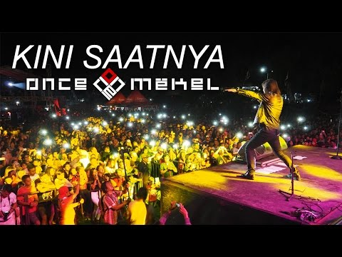 Once Mekel - Kini Saatnya (Official Lyric Video)