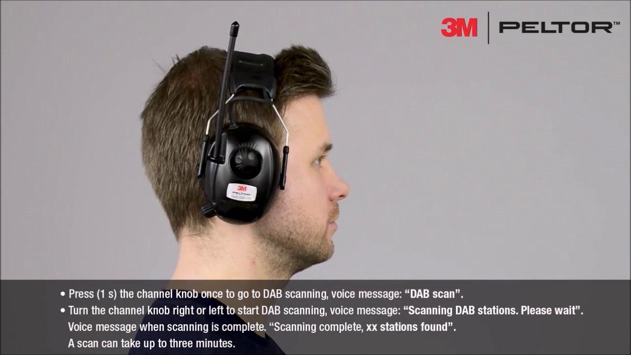 Oppsiktsvekkende SB Værktøj 3M™ PELTOR™ Radio DAB+ FM bruger instruktioner - YouTube ZS-61