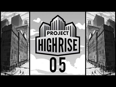 Lobby Designer - Project Highrise Beta #05 [Gameplay German Deutsch] [Let's Play]