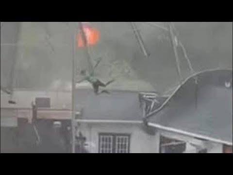يوم مخيف في بيلاروسيا ! عاصفة رهيبة حولت النهار الى ظلام تضرب مينسك