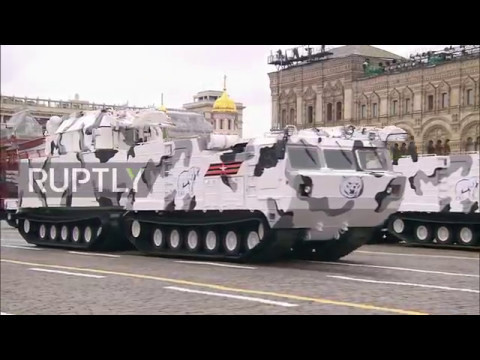 Russia: New Arctic Tor and Pantsir air-defence systems debut at Moscow V-Day Parade